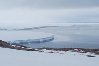 Cape Irizar looking north