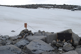 Inexpressible Island snow cave site