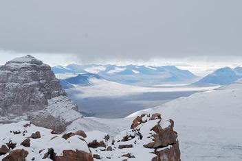 Mt Electra area to north