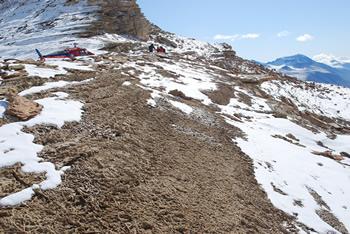 Devonian worms Siegmund Peak area
