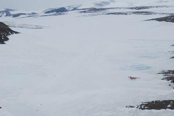 Zucchelli Station ice landing strip